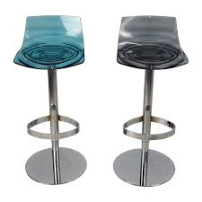bar stool buy 87 off calligaris calligaris l eau adjustable swivel bar stool