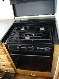 rv parts used rv atwood wedgewood 3 burner stove top and oven for