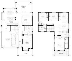 two storey house floor plan two storey residential house floor plan