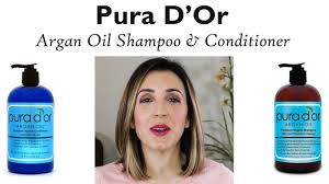 pura d u0027or argan hair loss prevention therapy review youtube