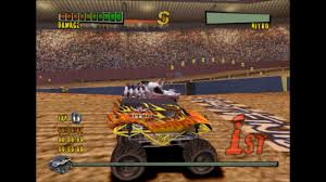 monster truck extreme racing games monster trux extreme arena edition ps2 gameplay hd youtube