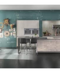 cuisine gris ardoise modèle de cuisine clara béton ixina