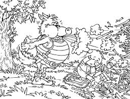 big bad wolf pigs tale coloring pages batch coloring