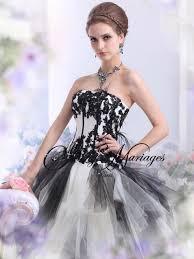 robe de mari e noir et blanc robe de mariee noir et blanc 2 mariage