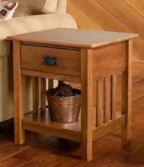mission end table by keystone table plans living rooms and