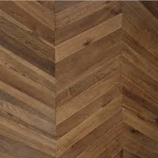 maxi chevron collection oak smoked engineered wood