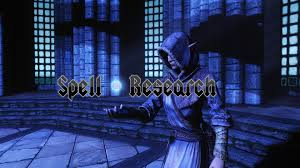 spell research at skyrim nexus mods and community