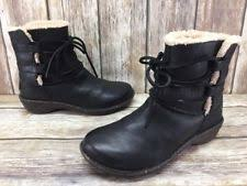 ugg australia womens caspia ankle boots with leather wrap ties ugg australia leather lace up ankle boots for ebay