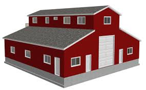 pole barn with living quarters kit barn decorations