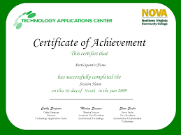 9 best images of sample certificate of achievement free