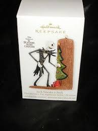nib hallmark ornament the nightmare before s