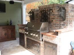 outdoor kitchen bbq designs kitchen interesting image of outdoor u shape kitchen design and