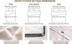 amazon com duvet cover set with zipper closure leaves camel