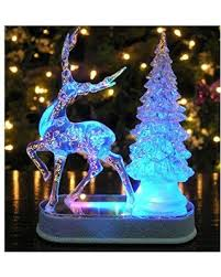 Color Changing Christmas Trees - spectacular deal on reindeer and christmas tree color changing