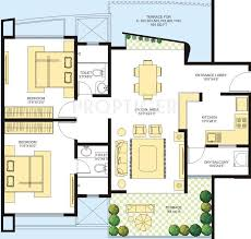 azure floor plan 1347 sq ft 2 bhk floor plan image marvel realtors azure available