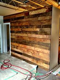 reclaimed wood divider this reclaimed wall could be a great look as a backdrop to our