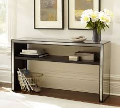 marnie mirrored console table pottery barn