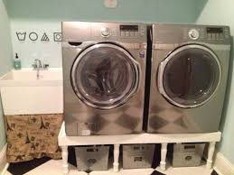 Samsung Blue Washer And Dryer Pedestal 159 Best Designs For Laundry Room Images On Pinterest Laundry