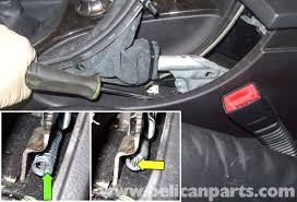 bmw e60 5 series parking brake adjustment 2003 2010 pelican