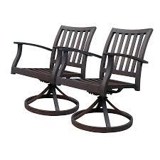 Patio Dining Set Swivel Chairs - 24 amazing patio dining chairs pixelmari com