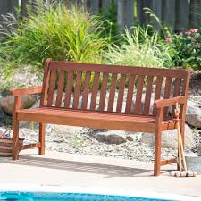 Patio Bench With Storage by Outdoor Benches Hayneedle