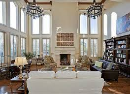 Plan TX Spectacular TwoStory Family Room Room Sitting - Two story family room