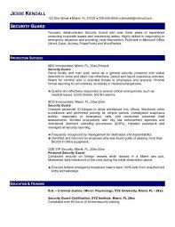 casino security guard cover letter