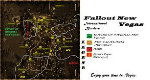 New Vegas Map Emperor Kalos Of The Empire Of Independent New Vegas Save File At