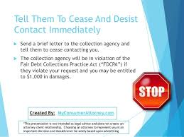 how to stop medical collection and debt collection call