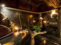 tropical bathroom ideas gorgeous tropical bathroom decor wall black