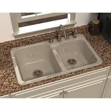 Kitchen Sinks Drop In Double Bowl by Kitchen Sinks Drop In Mountainland Kitchen U0026 Bath Orem
