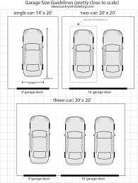 size of 2 car garage smallest 2 car garage door size wageuzi