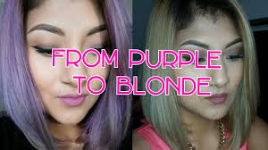 best clarifying shoo for colored hair how to remove purple from hair kmanzo01 youtube