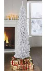 4ft 5ft 6ft 7ft white slim space saver pencil tree ebay