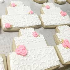 wedding cake cookies wedding cake cookies hayley cakes and cookies
