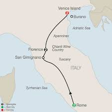 Venice Italy Map Italy Tours Globus Italy Vacation Packages
