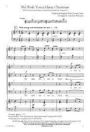 we wish you a merry satb arr j j w pepper sheet