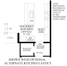 Kitchen Floorplans Kitchen Floor Plans With Walk In Pantry Voluptuo Us