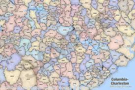 charleston sc zip code map charleston zip code map zip code map