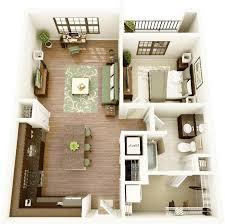 layout ruangan rumah minimalis contoh desain denah rumah minimalis 1 kamar tidur terbaik 2018