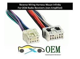 amazon com nissan infinity radio reverse wiring harness 1995 to