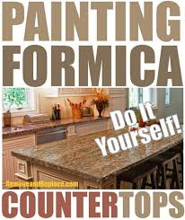 Painting Kitchen Countertops by Best 20 Painting Formica Ideas On Pinterest Painting Formica