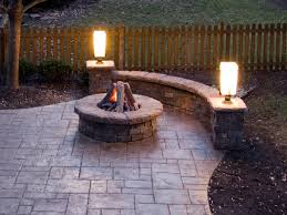 Firepit Patio Simple Firepit Patio Rustzine Home Decor Ideas For Make A
