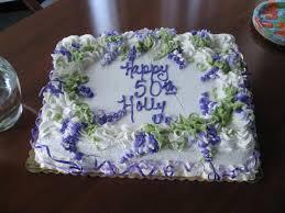50th birthday cake ideas lovetoknow