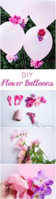 50th birthday flowers and balloons diy flower balloons artificial flowers flower balloons and diy flower