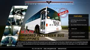 philippines bus armoured vehicles philippines bulletproof cars philippines cash in