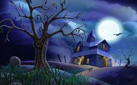 happy halloween animated images 3d halloween wallpaper wallpapersafari