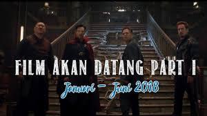 film marvel akan datang film akan datang 2018 part i jagat review
