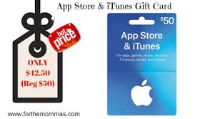 gift card apps 50 app store itunes gift card only 42 50