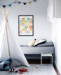 Nordic Bedroom by Cool Calm And Collected Kids Room Via Weekday Carnival Lasten